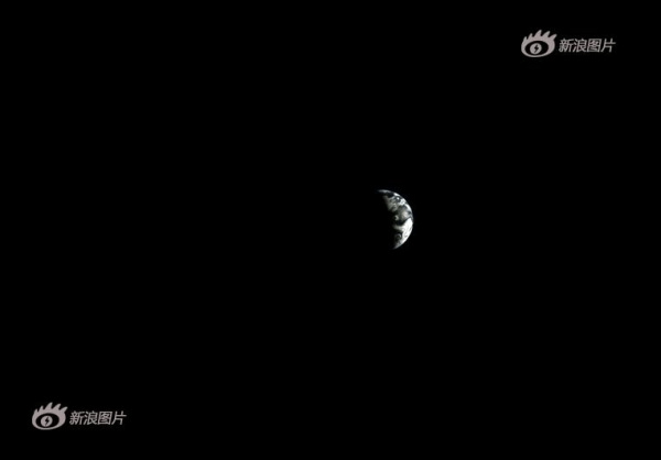 Image: Earth as seen from moon