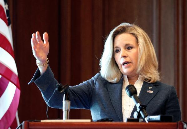 Image: Wyoming Senate candidate Liz Cheney