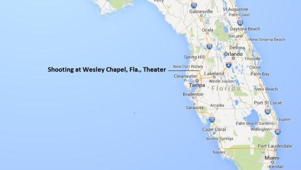 IMAGE: Map identifying Wesley Chapel, Fla.