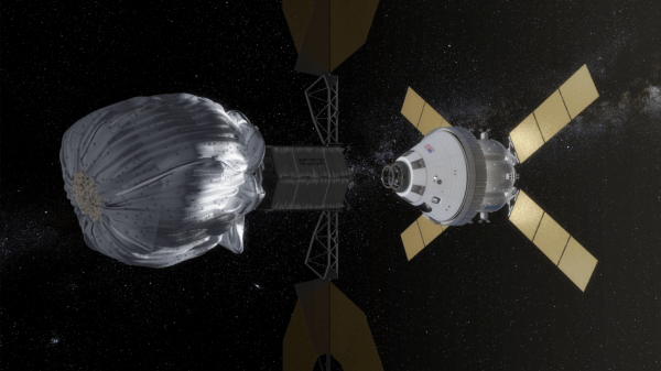 Image: Orion approach