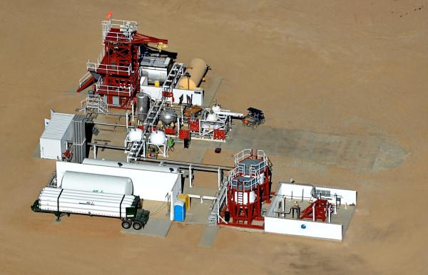 Image: Test site