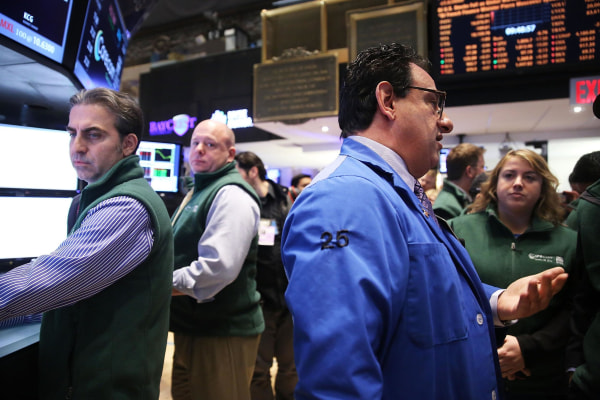 The Dow dropped over 200 points during the morning as Wall Street followed the global stock rout.