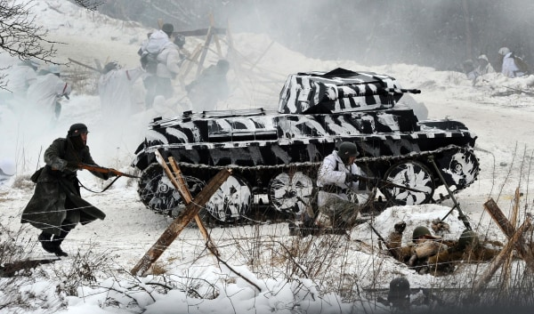 Image: RUSSIA-POLITICS-HISTORY-WAR