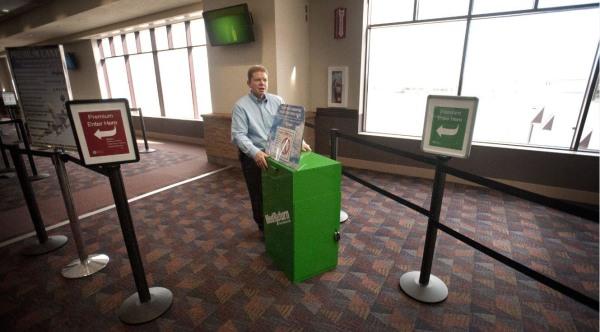 Colorado Springs airport marijuana drop box
