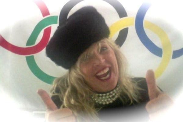 Yvonne Batal with Russian hat