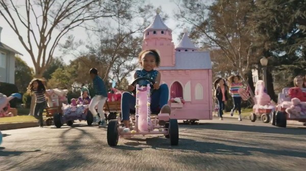 Oakland-based GoldieBlox conquered 20,000 business rivals and earned a free slot during the Super Bowl's commercial parade.