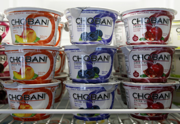 Chobani will donate Greek yogurt intended for U.S. Olympic athletes.