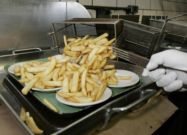 Image: French fried potatoes