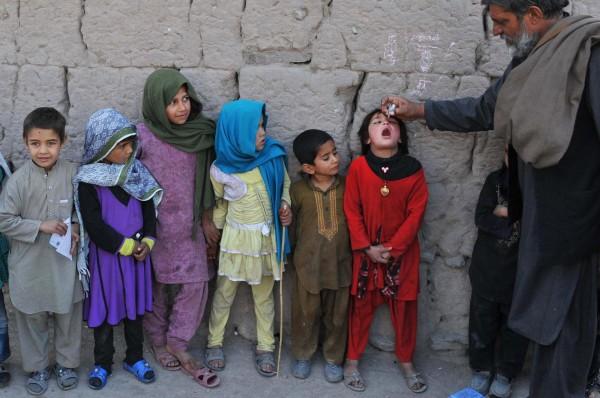 Image: TOPSHOTS-AFGHANISTAN-HEALTH-POLIO