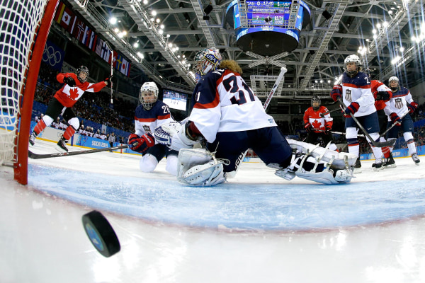 Image: Ice Hockey - Winter Olympics Day 5 - Canada v United States