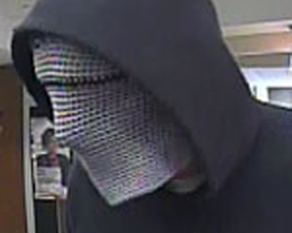 "A serial bank robber nicknamed the ""Cyborg Bandit."""