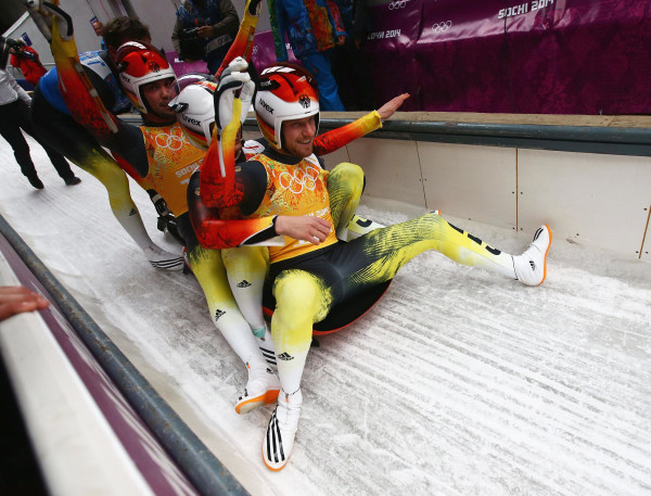 Image: Luge - Winter Olympics Day 6