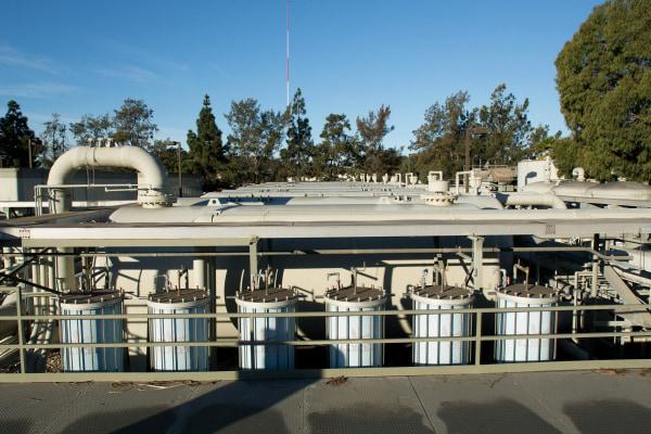 Image:The Charles Meyer Desalination Facility in Santa Barbara, Calif.