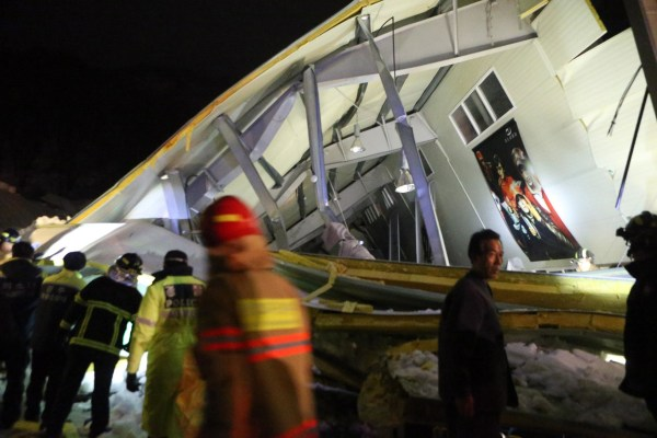 Image: SKOREA-ACCIDENT-COLLAPSE