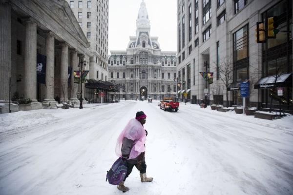Image: Philadelphia snow