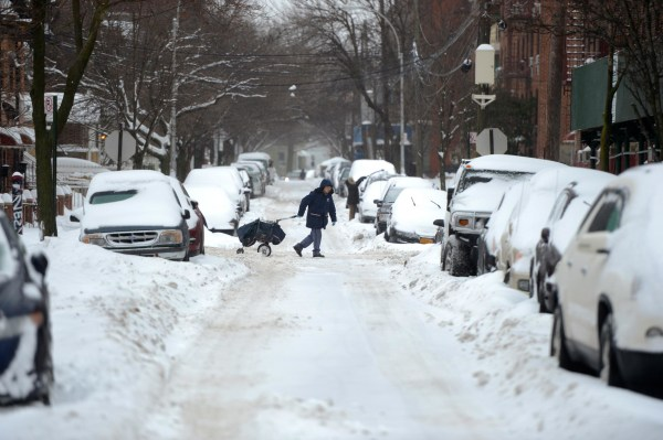Image: Snow in New York