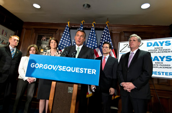 Image: Cathy McMorris Rodgers, John Boehner, Eric Cantor, Lynn Jenkins, Kevin McCarthy, James Lankford