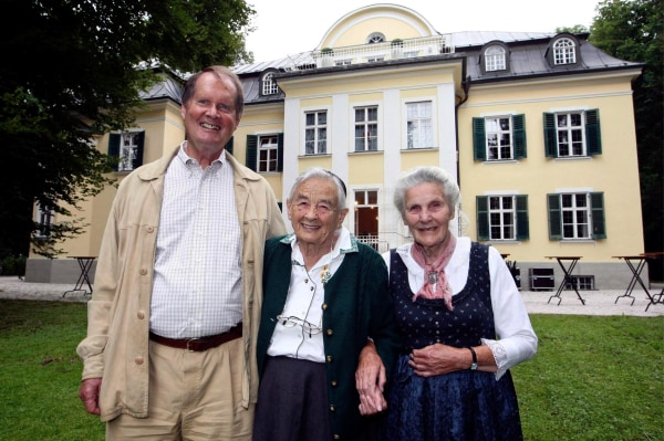 Image: Von Trapps return to family home in Austria for first time since fleeing from Nazis