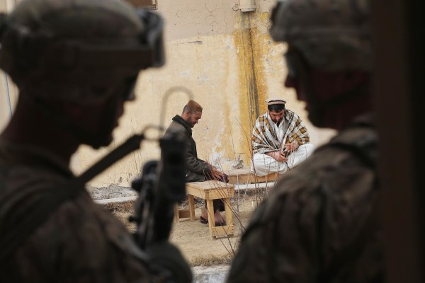 Image: U.S. Soldiers Provide Security Around Kandahar Airfield