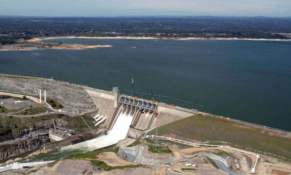 Image: Northern California's Folsom Lake on July 20, 2011.