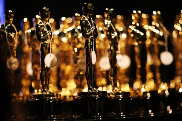 Image: General view of the Oscar statues