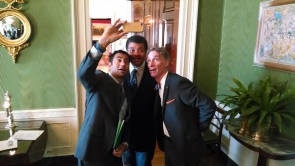 Image: White House selfie