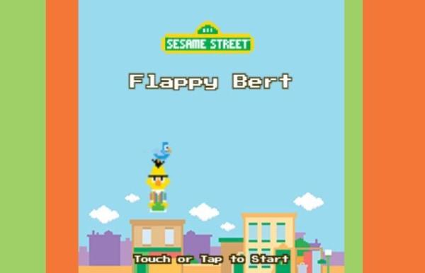 Sesame Street Flappy Bird