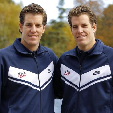 Image: Winklevoss twins