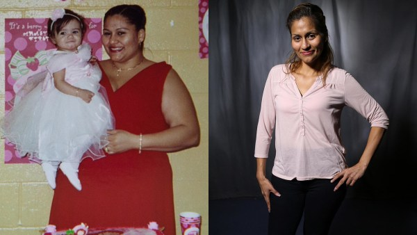 Image: Jasmin Maldonado, before and after weight loss and skin tightening surgeries