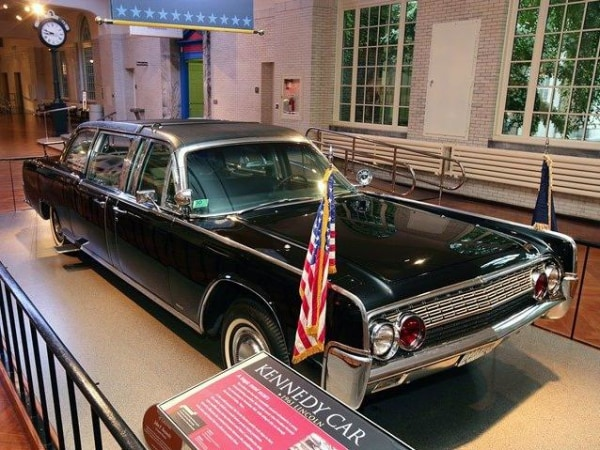 The presidential limousine has evolved a long way since the one that President John F. Kennedy was riding in when he was shot on Nov. 22, 1963.