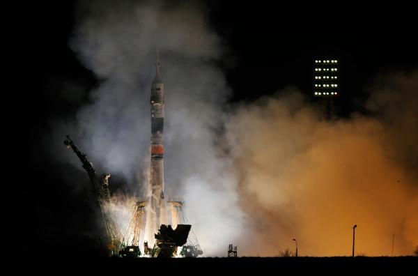Image: Soyuz liftoff