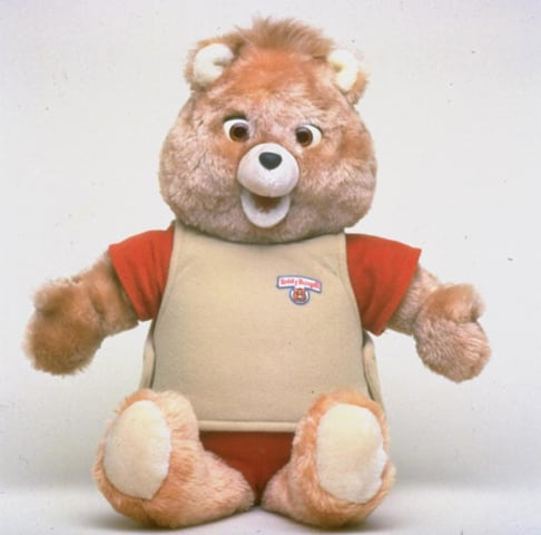 Teddy Ruxpin bear