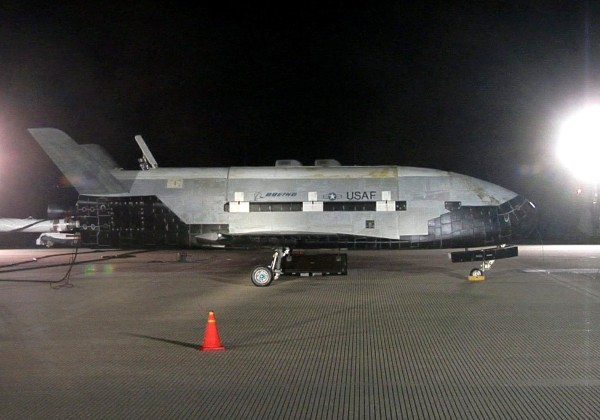 Image: This picture provided by the US Air Force shows the X-37B