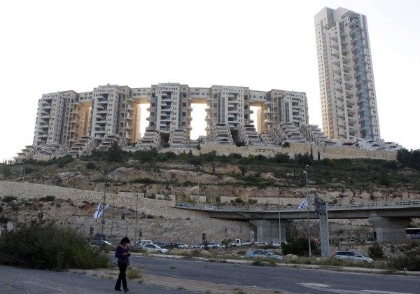 Image: Holyland apartment complex in Jerusalem
