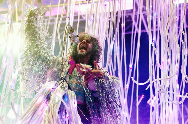 Image: Wayne Coyne of The Flaming Lips