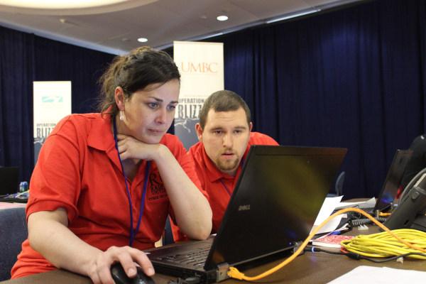 Image: Cybersecurity: Eileen Hindmon/Radford University
