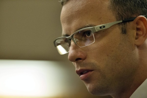 Image: Oscar Pistorius in court on March 28