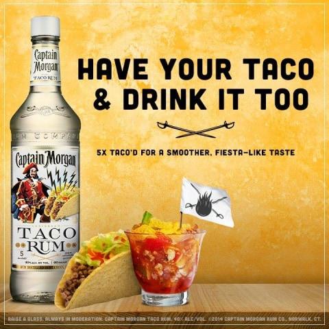 IMAGE: Captain Morgan Taco Rum