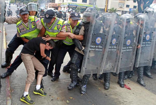 Image: TOPSHOTS-VENEZUELA-POLITICS-OPPOSITION