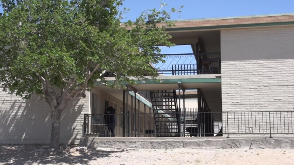 Image: The apartment complex in El Paso where Lopez once lived