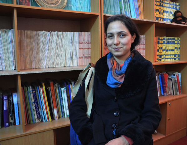 Image: Law student Manizha Raihimi
