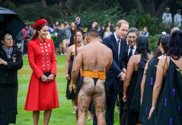 Image: Royals visit New Zealand