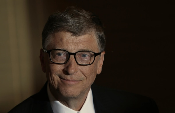Bill Gates smiles during an interview with Reuters in Singapore April 6, 2014.