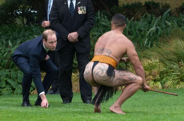 Image: TOPSHOTS-NZEALAND-BRITAIN-AUSTRALIA-ROYALS