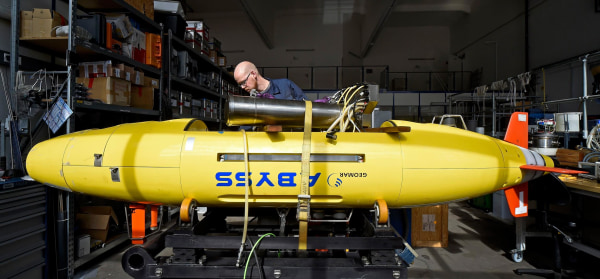 Autonomous Underwater Vehicle (AUV) 'Abyss'