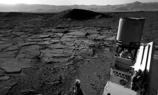 Image: Mars terrain