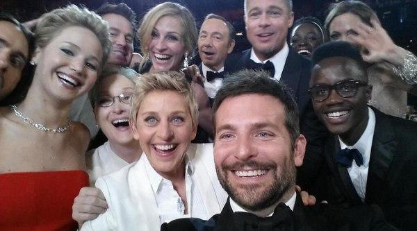 Image: Ellen DeGeneres selfie