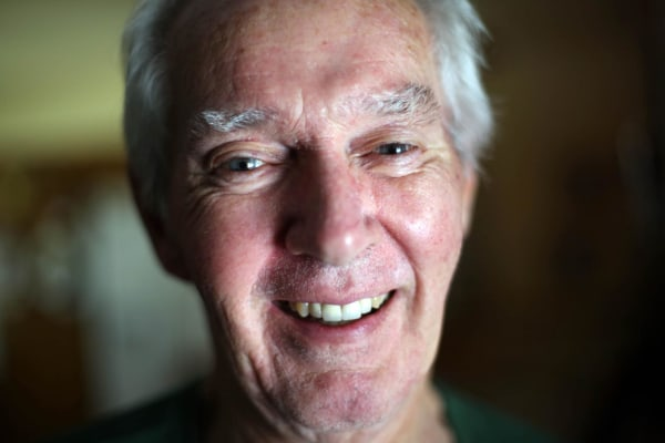 Image: Bob Hoaglan is a Vietnam veteran who has ALS