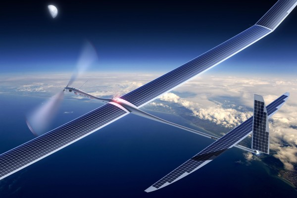 Google is buying Titan Aerospace, a company previously courted by Facebook, that makes solar-powered drones like the Solara 50.