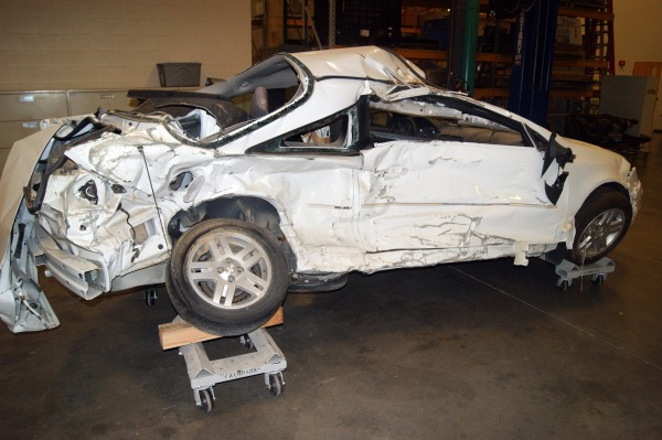 Image: Pediatric nurse Brooke Melton, 29, died in this 2005 Chevy Cobalt on March 10, 2010, when the ignition allegedly shut off as she drove down a highway on a rainy night in Georgi